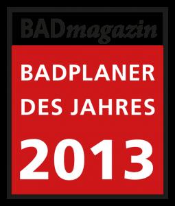 Badplaner des Jahres 2013